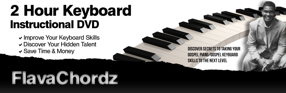Gospel Piano/Gospel Keyboard: Header